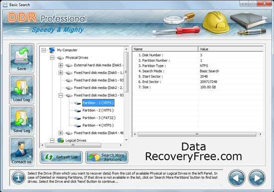 Windows 7 Data Recovery Free 4.0.1.6 full