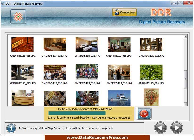 Versatile Digital picture retrieval program